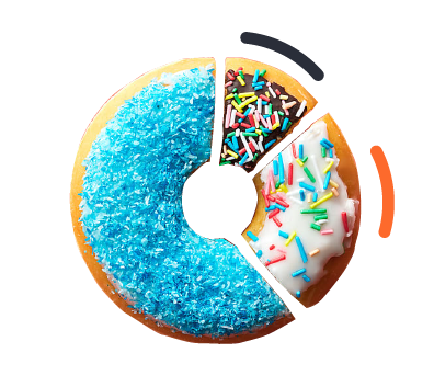 Donut; Online strategy