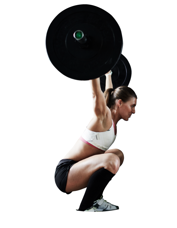 Woman dead lifting 1406 Consulting Digital marketing agency