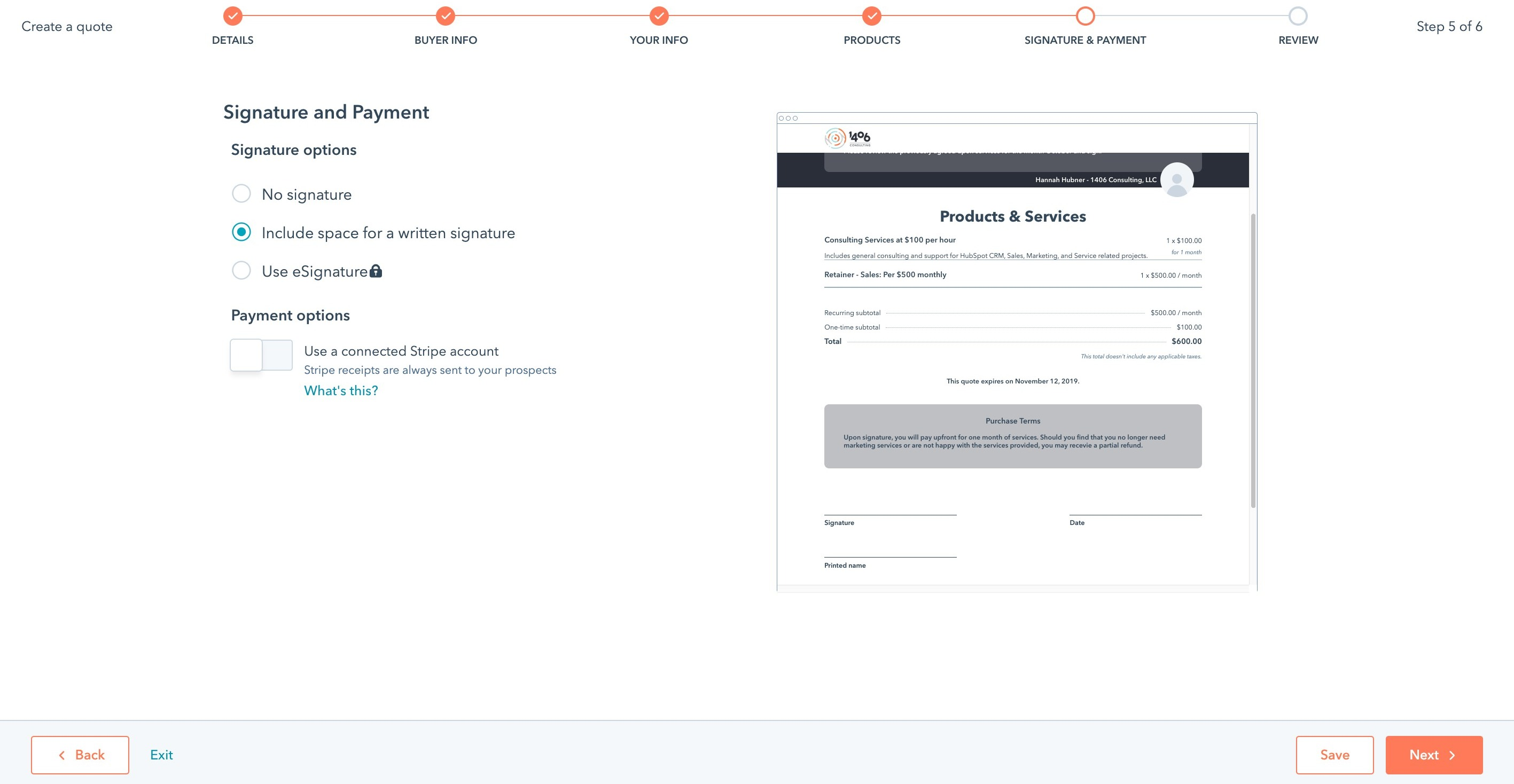 How To Use The Quotes Feature In HubSpot